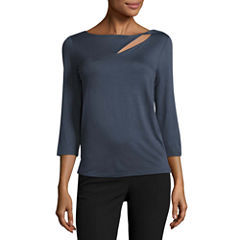Worthington 3/4 Sleeve Top