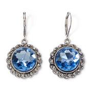 Monet® Blue Moon Drop Earrings