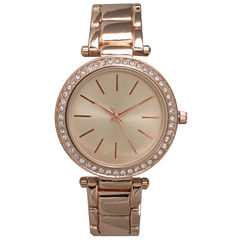 Olivia Pratt Womens White Bracelet Watch-14202