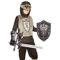 Knight (Silver) Child Costume Kit - One Size (FitsSizes 4-8)