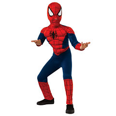 Ultimate Spider-Man Muscle Chest Kids Costume