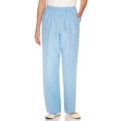 Alfred Dunner Woven Pull-On Pants