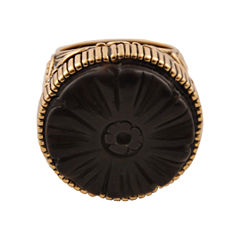 Art Smith by BARSE Wood Statement Ring