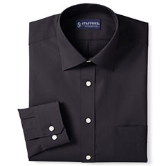Stafford® Travel Easy-Care Broadcloth Dress Shirt–Big & Tall