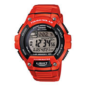 Casio® Solar Runner Womens Large Case Watch WS220C-4A
