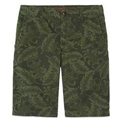 Arizona Print Poplin Chino Shorts - Boys 8-20