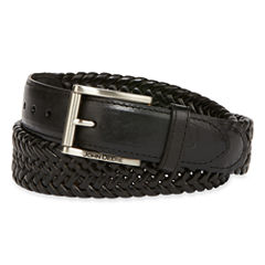 John Deere™ Leather Braided Belt