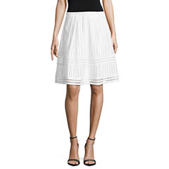 Worthington Pleated Skirt