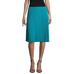 Worthington Pleated Skirt