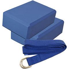 Yoga Block and Strap Kit