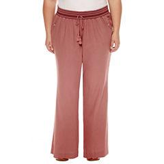 Rewash Linen Pants - Juniors Plus