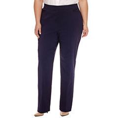Worthington Slim Fit Slim Pants-Plus