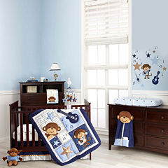 Carter's® Monkey Collection 4-pc. Crib Bedding Set