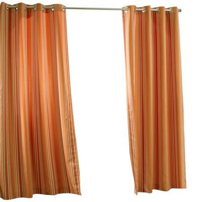 gazebo stripe grommettop outdoor curtain panel