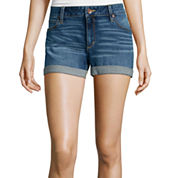 a.n.a® Denim Roll Cuff Shorts