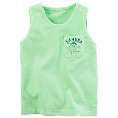 Carter's Sleeveless T-Shirt-Toddler Boys