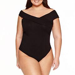 Belle + Sky Short Sleeve Bodysuit-Plus