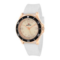 Seapro Tideway Womens White Silicone Strap Watch