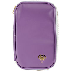 Webster's Pages Leather Folio - Lavender