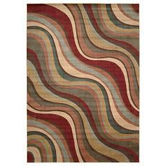 Nourison® New Wave Rectangular Rug