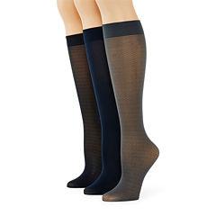 Mixit™ 3-pk. Trouser Socks - Extended Size