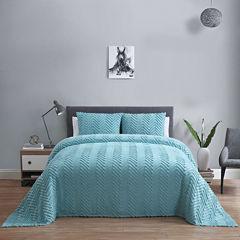 VCNY Antigua 3-pc. Cotton Chenille Bedspread Set