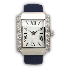 Olivia Pratt Womens Blue Bangle Watch-15773