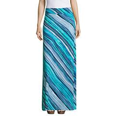 Liz Claiborne Maxi Skirt-Talls
