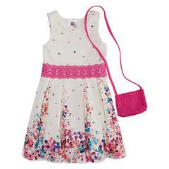 Knit Works Sleeveless Skater Dress - Preschool Girls