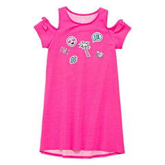 Total Girl Short Sleeve Maxi Dress - Preschool Girls
