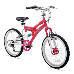 Kent 20in Rock Candy Girls Dual Suspension Bike