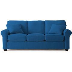 Fabric Possibilities Roll Arm Sofa