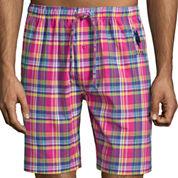 U.S. Polo Assn.® Woven Madras Plaid Pajama Shorts