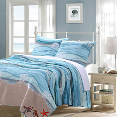 Greenland Home Fashions Maui Quilt Set