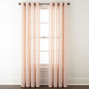 JCPenney Home™ Roland Sheer Grommet-Top Curtain Panel