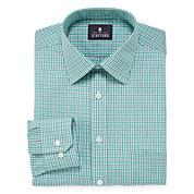Stafford® Travel Long-Sleeve Broadcloth Dress Shirt