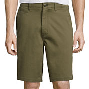St. John's Bay® Comfort Stretch Chino Shorts