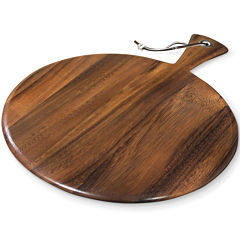 Ironwood Gourmet Round Paddle Serving and Cutting Board