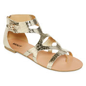 Mixit™ Goddess Gladiator Strap Sandals