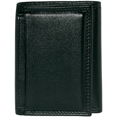 Buxton® Emblem Tri-fold Leather Wallet