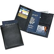 Buxton® Leather Passport Wallet