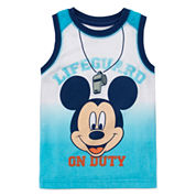 Disney Apparel by Okie Dokie® Mickey Tank Top - Toddler Boys