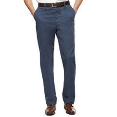 Savane® Premium Flex Twill Flat-Front Pants