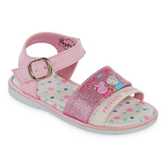Peppa Pig Sandal Girls Strap Sandals - Toddler