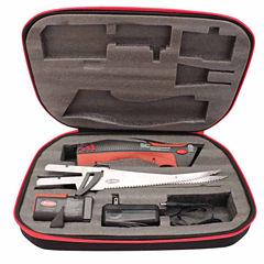 Berkley Fillet Knife 7 1/2In Length Turboglide Cordless With Folding Board Fillet Knives