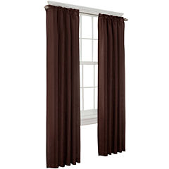 Toronto Lined Back-Tab Curtain Panel