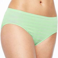 Jockey® Matte and Shine High-Cut Panties - 1306