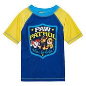 Boys Paw Patrol Rash Guard-Preschool