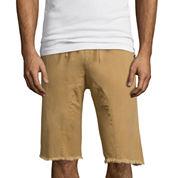 Akademiks® Sureshot Flat-Front Twill Shorts