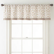 JCPenney Home™ Stonebridge Rod-Pocket Valance